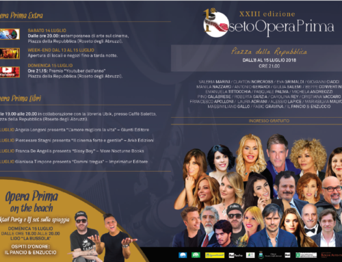 Roseto Opera Prima 2018